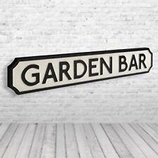 Garden Bar - Vintage Road Sign / Street Sign - Perfect For Your Garden Bar!