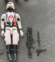 GI Joe Black Major Vintage Style Arctic Officer Cobra Trooper