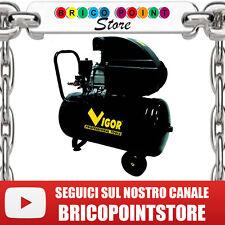 COMPRESSORE VCA 50L 50 LITRI TRASMISSIONE DIRETTA VIGOR  2 HP 1,5 KW 1 CILINDRO