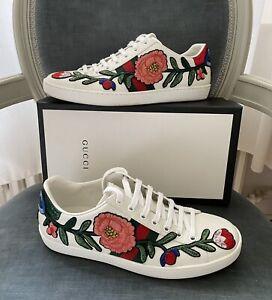 Gucci - Ace Sneaker / Schuhe Stickerei Gr. 39