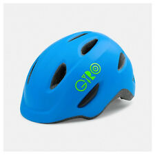 Giro Scamp Cycling Helmet (Matte Blue/Lime / Kid's / Small Size)