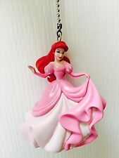 "Disney Little Mermaid Ariel 3"" PVC Figure Chain Light Fan Pull Figurine Doll Toy"