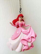 """Disney Little Mermaid Ariel 3"""" PVC Figure Chain Light Fan Pull Figurine Doll Toy"""