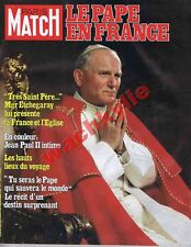 Paris Match n°1619 06/06/1980 pape Jean-Paul II France Boussac Tabarly