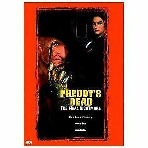 Freddy's Dead: The Final Nightmare (1991) Dvd - NIGHTMARE ON ELM STREET - 6 SIX