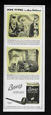 BRIGGS 89 charles addams art tobacco 1945 Vintage Print Ad