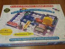 ELECTRONIC SNAP KIT Build 100 Projects Electronics 101 Homeschool Science 28-286