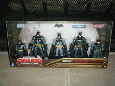 DC COMICS SUPER HERO SHOWDOWN BATMAN X 5 FIGURES THE ULTIMATE COLLECTION JUSTICE