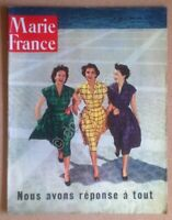 Rivista Magazine Marie France - n. 393 Juin 1952 - Vintage fashion advertising