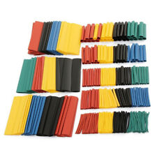 328pcs 2:1 Assorted Polyolefin Heat Shrink Pack Tubing Tube Sleeving Wrap Wire