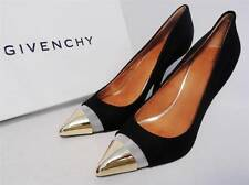 Givenchy Black Leather Toe-cap  Pumps Heels UK5 38 new