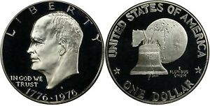 1976 S 40% Silver Eisenhower Ike Dollar  BU