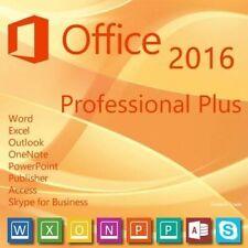 Office 2016 Professional Plus 32/64Bit Deutsch Key CD DVD Pro Prof x86 x64 Code