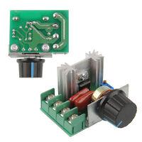 2000W 220V AC SCR Electric Voltage Regulator Motor Speed Control Controller KY