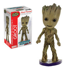 NECA MARVEL GUARDIANS GALAXY VOL 2 GROOT HAND PAINTED HEAD KNOCKER BOBBLE HEAD