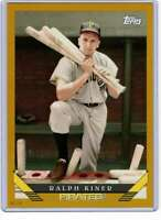 Ralph Kiner 2019 Topps Archives 5x7 Gold #231 /10 Pirates