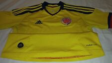 SELECCION COLOMBIA HOME ADIDAS M YOUNG WOMAN JAMES RODRIGUEZ FALCAO FCF JERSEY
