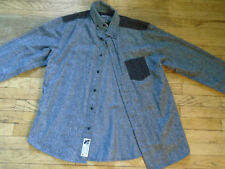 CROOKS AND CASTLES LONG SLEEVE BUTTON UP - Size: Medium