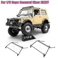 Stainless Steel Front Windshield Roll Cage for 1/6 Capo Samurai Sixer JIMNY Car