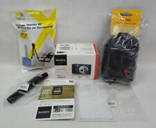 Sony Cyber-shot DSC-W800 Digital Camera (Black) DSCW800/B w/ extras, Bundle Kit