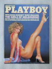 Australian PLAYBOY Magazine, Mar 1987, Wayne Gardner interview, Julie Peterson