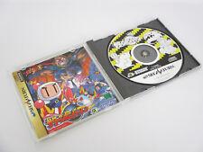 Saturn Bomberman Ref / Bbc Sega Saturn Giappone Gioco Ss