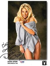 Dona Speir Signed Sexy Authentic Autographed 8x10 Photo PSA/DNA #X47023