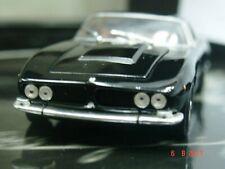 WOW EXTREMELY RARE Iso Grifo 7.0 16V 406HP 1968 Black 1:43 Minichamps-Gitf Box