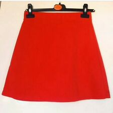 Red/Coral Highwaisted skirt size 8