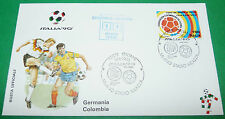 RARE ITALIA 90 19/06/1990 DEUTSCHLAND - COLOMBIA MILANO COUPE MONDE FOOTBALL