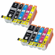 2x Full Sets of 5 (10x Inks) Non OEM 33xl Ink Cartridges for Epson Xp900 Printer