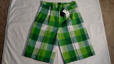 DIO MODA AUTHENTIC COLLECTION MEN'S CASUAL DRESS PLAID SHORTS - SIZE 38