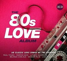 80'S LOVE ALBUM - 60 SONGS OF LOVE (PAUL YOUNG/H2O/EUROPE/TOTO/+) 3CD NEU