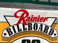 "Vintage Rainier Beer UPS Loggers Football 1987 Poster - 22""x18"" College Football"