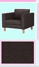 IKEA Karlstad RARE Korndal Dark Brown Chair Cover(Mates Available)Armchair Tweed