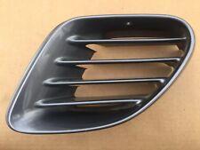03 Porsche Boxster 986 driver exterior quarter intake air vent SILVER