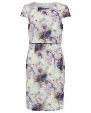 BNWT PHASE EIGHT EFFIE BLURRED PRINT 2 IN 1 DRESS SIZE UK 10 RRP £110