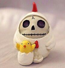 Furry Bones White Nugget Chicken Skeleton Animal Figurine Free S&H