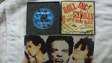 "Rolling Stones ""It's only rock and roll"" CD Single Box set with poster 4 tracks"