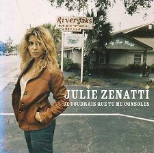 """CD SP 3T  JULIE ZENATTI  """"JE VOUDRAIS QUE TU ME CONSOLES"""""""