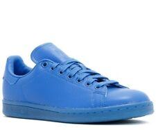 buy popular 6fb83 538f3 Adidas Original S80246 Stan Smith Adicolor Blue Leather Trainer Sneaker 6  6.5 40