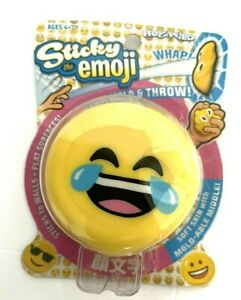 NUGULAB Sticky The Emoji Crying Whap  Ball Squishy Smushy Sticky Fun Hogwild NIB