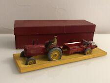 Jouet Ancien Coffret Dinky Toys France Tracteur Massey Harris et Épandeur 27 AC