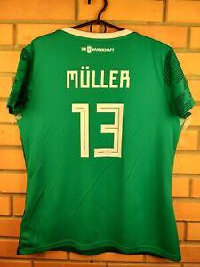Muller Germany Jersey Women 2018 Shirt XL Away BR3149 Football Adidas Trikot