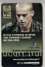 ARMEE ARMY  TELECARTE / PHONECARD .. FRANCE 10MN TICKET FT CHARTRES 28 NEUVE