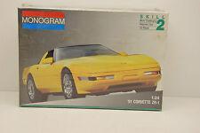 CHEVROLET CORVETTE ZR-1 1991 MONOGRAM 1/24 NEUVE EN BOITE