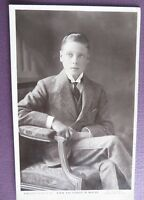 H.R.H.THE PRINCE OF WALES ROYALTY  Real Picture postcard W&D DOWNEY London