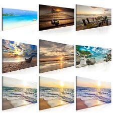 Spiaggia Mare Quadro su Tela TNT Stampe Immagini Murale Decorazione c-B-0133-b-a