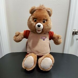 "Vintage Original 1985 WOW 19"" Teddy Ruxpin Teddy Bear NON-WORKING"