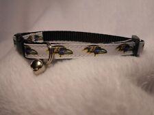 """Baltimore Ravens TM 3/8"""" Adj Pet Collar"""